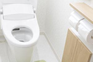 トイレの水垢、カビ