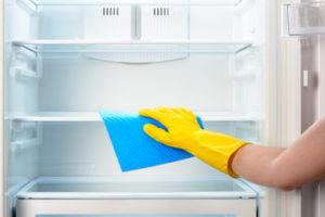 冷蔵庫の掃除ポイント②庫内と外側の掃除