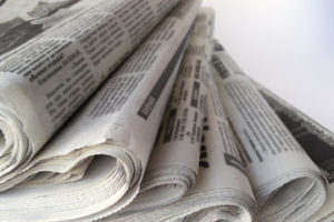 取り外し解体&新聞紙を敷く