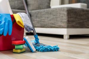 効率的な掃除を心がける