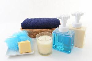 浴槽の湯垢・水垢&バス用品の汚れ