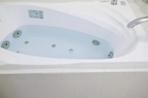 湯垢の掃除