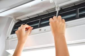 自分で行う、エアコンの掃除方法