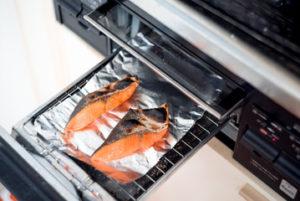魚用グリルは「重曹」と「酢」が良い